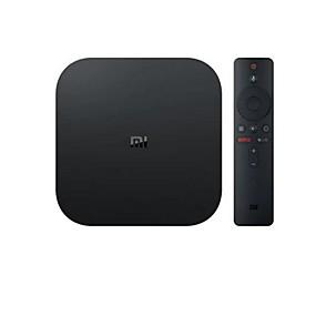 billige Skolestart - udsalg-xiaomi mi box s med 4k hdr android tv streaming mediaspiller google assistent fjernbetjening international version cortex-a53 quad core 64 bit mali-450 android 8,1 2GB RAM + 8GB ROM