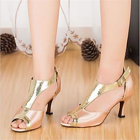 e4382d6261e6 Žene Cipele za latino plesove Saten Štikle Isprepleteni dijelovi Tanka  visoka peta Moguće personalizirati Plesne cipele Pink