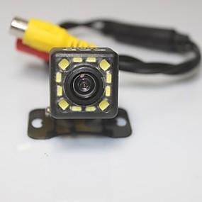povoljno Stražnja kamera za auto-parking senzorima Pogled sustav auto straga kamera 1080p 12 doveli CCD HD osvrtnog preokrenuti univerzalna backup fotoaparat vodootporan