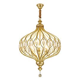 abordables Plafonniers-ZHISHU 6 lumières Globe Lampe suspendue Lumière dirigée vers le haut Finitions Peintes Métal Créatif 110-120V / 220-240V