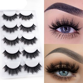 27947f86d07 Eyelash Extensions 10 pcs Natural Best Quality 3D Lightweight Beauty Cute  Animal wool eyelash Christmas Gifts Party Halloween Full Strip Lashes  Crisscross ...