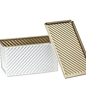 billige Kjeksverktøy-Bakeware verktøy Metall Kreativ Kjøkken Gadget Originale kjøkkenredskap Rektangulær Dessertverktøy 1pc
