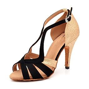c65a42b6b90c Žene Cipele za latino plesove Sintetika Sandale   Štikle Kopča   Blistati    Isprepleteni dijelovi Tanka visoka peta Moguće personalizirati Plesne cipele  ...
