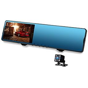 economico DVR per auto-Vasens 168P 720p / 1080p Nuovo design / Dual Lens Automobile DVR 170 Gradi Angolo ampio CMOS 4.3 pollice LCD Dash Cam con Wi-fi / G-Sensor / Modalità parcheggio assistito No Registratore per auto