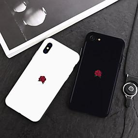 voordelige Telefoons en accessoires-geval voor apple iphone xr xs xs max patroon achterkant planten / cartoon zachte tpu voor iphone x 8 8 plus 7 7 plus 6s 6s plus se 5 5s