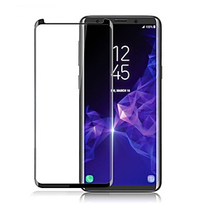 voordelige Schermbeveiligers voor mobiel-Cooho Screenprotector voor Samsung Galaxy S8 Plus Gehard Glas 1 stuks Voorkant screenprotector High-Definition (HD) / 9H-hardheid / Explosieveilige