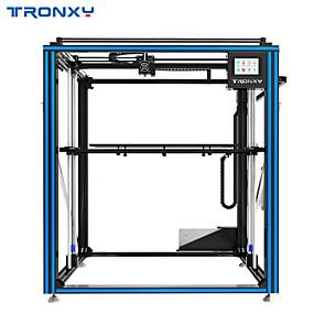 ieftine -0.1-Imprimanta 3d din aluminiu imprimanta tronx® x5st-500 500 * 500 * dimensiune mare de imprimare de 600 mm cu ecran tactil de 3.5 inci full color / detector de fier /