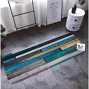preiswerte Läufer und Teppiche-1pc Modern Badvorleger Korallen-Velvet Streifen 5mm Bad Rutschfest / Neues Design / Einfach zu säubern