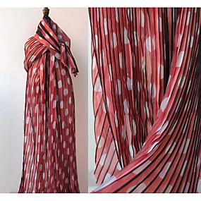 povoljno Novo u ponudi-Chiffon Geometrijski oblici Uzorak 145 cm širina tkanina za Posebne prilike prodan od 0.5m