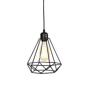 abordables Plafonniers-Mini Lampe suspendue Lumière d'ambiance Finitions Peintes Métal Style mini 110-120V / 220-240V