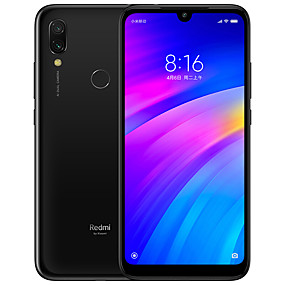 "cheap Smartphones-Xiaomi Redmi 7 Global Version 6.26 inch "" 4G Smartphone (3GB + 64GB 2 mp / 12 mp Qualcomm Snapdragon 632 4000 mAh mAh)"