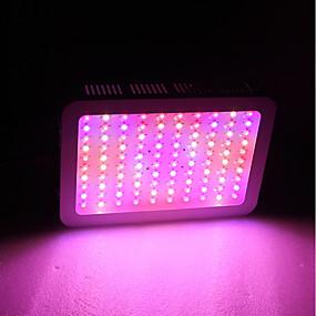 billige LED Økende Lamper-1set 1000 W 5130 lm 100 LED perler Fullt Spektrum Lett installasjon For drivhushydroponisk Voksende lysarmatur Varm hvit Hvit Rød 85-265 V Kommersiell Hjem / kontor