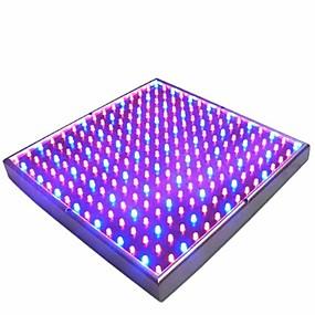 billige LED Økende Lamper-1pc 15 W 700 lm 225 LED perler For drivhushydroponisk Voksende lysarmatur Rød Blå 85-265 V
