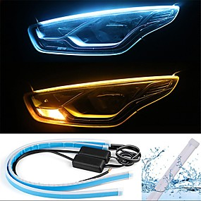 cheap 90%OFF-2pcs Wire Connection Car Light Bulbs 13 W SMD 2835 800 lm 168 LED Daytime Running Lights / Turn Signal Lights / Tail Lights For universal All years