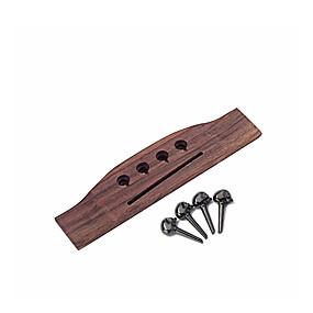 halpa Soitintarvikkeet-ammattilainen Kitara-lisävaruste GO302 Kitara Puu Kotelo Musical Instrument Varusteet 17.4*4.27*0.94 cm