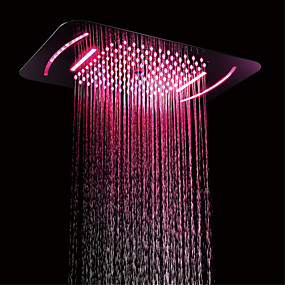 cheap LED Faucets Series-Shower Faucet - Contemporary Chrome Wall Mounted