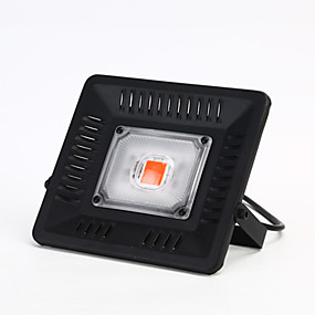abordables Lampe de croissance LED-50w 4000lm 1pcs l'épi a mené des perles pour la culture hydroponique facile à effet de serre d'installer la lumière croissante IP65 imperméable