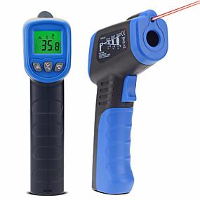 voordelige Super Korting-thermische camera holdpeak hp-981c infraroodthermometer -30550'c / -221022'f temperatuurmeter pistool non-contact ir digitale meter
