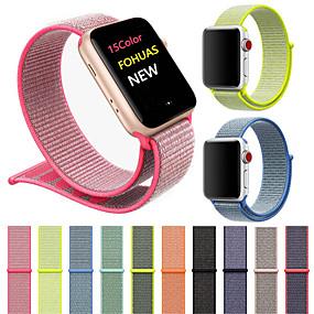 povoljno Oprema za pametni sat-Pogledajte Band za Apple Watch Series 4/3/2/1 Apple Sportski remen Najlon Traka za ruku