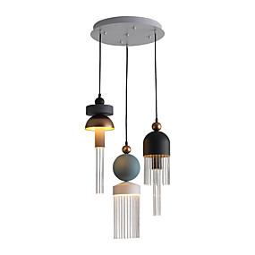 billige Hengelamper-ZHISHU 3-Light Sputnik / Industriell / Originale Anheng Lys Nedlys galvanisert Metall Nytt Design, WIFI-kontroll 110-120V / 220-240V Varm Hvit / Hvit / Wi-Fi Smart