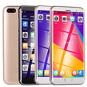 "cheap Smartphones-Huitton R10 5 inch "" 3G Smartphone (512MB + 4GB 2 mp / Flashlight MediaTek MT6580 1500 mAh mAh) / 854x480"