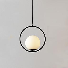 billige Hengelamper-Globe Anheng Lys Omgivelseslys Gylden Metall Glass Justerbar 110-120V / 220-240V Varm Hvit / Kald Hvit