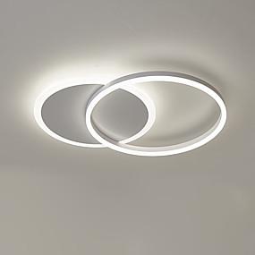 tanie Mocowanie przysufitowe-Nowość Lampy sufitowe Aluminium 110-120V / 220-240V Ciepła biel / Biały / Przyciemnianie pilotem