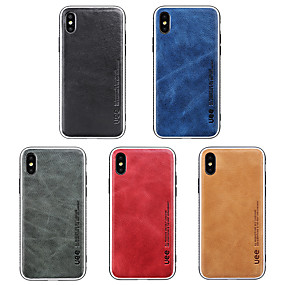 cheap New Arrivals-Case For Apple iPhone XS Max / iPhone 6 Shockproof Back Cover Solid Colored Soft Silicone for iPhone XS / iPhone XR / iPhone XS Max