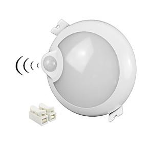 billige LED-kabinetlamper-ZDM® 1pc 5 W 400 lm 25 LED Perler Infrarød sensor LED nedlys Kold hvid 100-240 V Hjem / kontor Stue / spisestue Entré / trapper