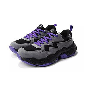 baratos Sapatos Esportivos Masculinos-Homens Sapatos Confortáveis Com Transparência Verão Casual Tênis Caminhada Respirável Branco / Roxo / Bege