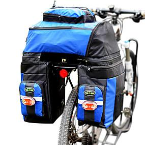 Χαμηλού Κόστους Ξεπούλημα-FJQXZ 70 L Τσάντα αποσκευών για ποδήλατο / Διπλή τσάντα σέλας ποδηλάτου 3 σε 1 Προσαρμόσιμη Μεγάλη χωρητικότητα Τσάντα ποδηλάτου 1680D Πολυεστέρας Τσάντα ποδηλάτου Τσάντα ποδηλασίας / Αδιάβροχη