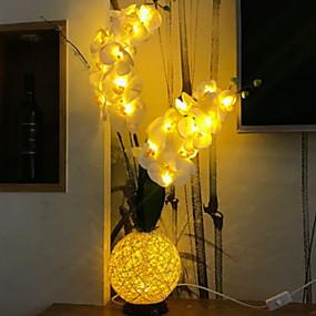 """Недорогие """"Умный"""" свет-1шт LED Night Light Желтый USB Творчество 5 V"""