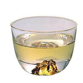 voordelige Koffie en Thee-glas Hittebestendige Nieuw Design epäsäännöllinen 2pcs Beker