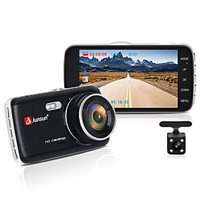 povoljno 10%OFF-junsun h7n auto dvr kamera dual objektiv ips 4.0 full hd 1080p video registrator noćni vid auto snimač dash cam