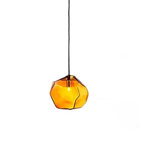 billige Hengelamper-geometriske Anheng Lys Omgivelseslys Glass Glass Kreativ 110-120V / 220-240V Varm Hvit / Hvit