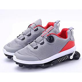 baratos Sapatos Esportivos Femininos-Unisexo Com Transparência Primavera Tênis Corrida Sem Salto Azul Escuro / Cinzento / Preto / verde