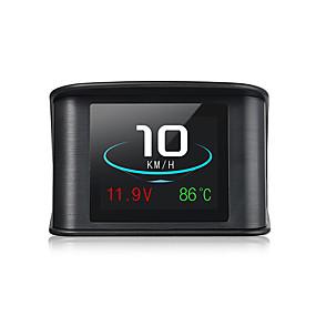 tanie Wyświetlacze samochodowe-p10 hud head up display wielokolorowy prędkościomierz cyfrowy projektor odblaskowy
