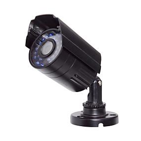 povoljno CCTV kamere-2000tvl hd vodootporni pištolj tip simulacija (30 svjetla infracrveni) fotografija 1/3 cm cmos bullet kamere / simulirana kamera / vodootporna kamera h.264 ip65