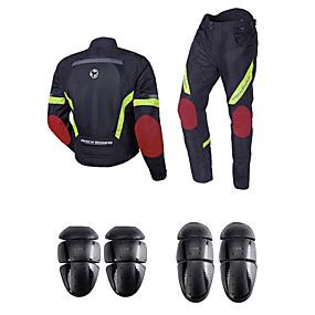 povoljno Novi dolasci u srpnju-SRATE Odjeća za motocikle Jacket Pants Set za Muškarci Polyster Pasti / Ljeto Grijač / Najbolja kvaliteta