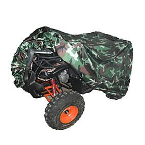 voordelige Autohoezen-quad tractor atv cover uv waterdichte hittebestendige camouflage
