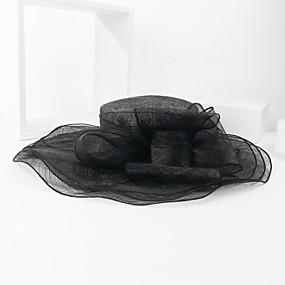 povoljno Kentucky Derby Hat-Lan Kentucky Derby Hat / kape s Cvijet 1pc Vjenčanje / Special Occasion Glava