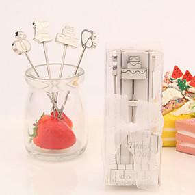 abordables Cadeaux Utiles pour Invités-Soirée de Fiançailles / Fête de Mariage Acier inoxydable Cadeaux Utiles Créatif / Mariage - 4 pcs
