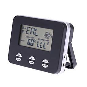 voordelige Super Korting-voedsel thermometer keuken barbecue sonde alarm bakken suiker digitale voedsel thermometer