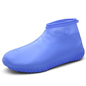 baratos Capas para Sapatos-1 par Homens Protetor de Sapatos Standard 3D impressão Esportes Estilo simples Silicone EU40-EU46