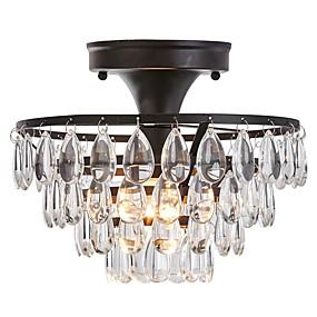 povoljno Kristal Svjetla-Flush Svjetla Downlight Slikano završi Metal Acrylic 110-120V / 220-240V