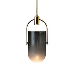 billige Hengelamper-OYLYW Mini Anheng Lys Omgivelseslys galvanisert Metall Glass Mini Stil, Nytt Design 110-120V / 220-240V
