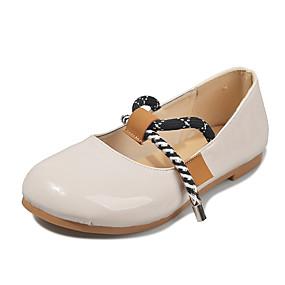 voordelige Damesschoenen met platte hak-Dames Platte schoenen Platte hak Lakleer Lente & Herfst / Zomer Zwart / Beige / Wijn