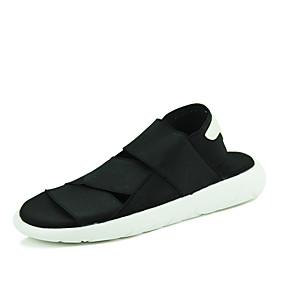 baratos Sapatos Náuticos Masculinos-Homens Sapatos Confortáveis Com Transparência Verão Casual Sapatos de Barco Caminhada Respirável Botas Cano Médio Preto / Roxo / Branco e Preto