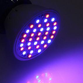preiswerte LED Pflanzenlampe-1pc 3 W 260-312 lm 36 LED-Perlen Wachsende Leuchte Rot Blau 85-265 V Gemüse Gewächshaus