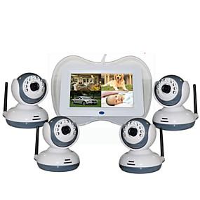 cheap Baby Monitors-Factory OEM® 0.3 mp Baby Monitor CMOS 360 ° °C Night Vision Range  5 m 0 GHz